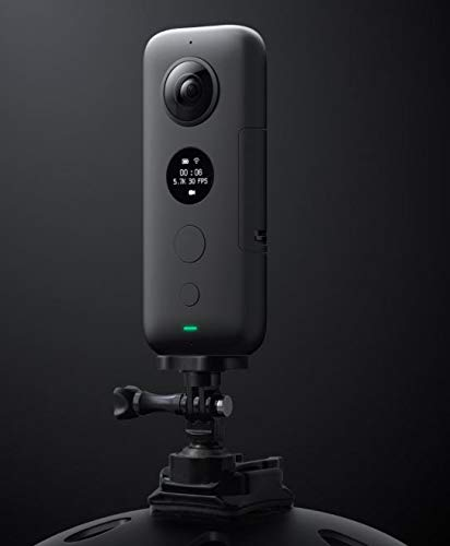 Insta360 ONE X 360 Action Camera, 5.7K Video and 18MP Photos, with Flowstate Stabilization, Real Time WiFi Transfer (SD Card Sold Independently, V30 MicroSDXC is Required)
