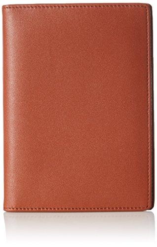 AmazonBasics Leather RFID Blocking Passport Holder Wallet – 6 x 4 Inches, Brown