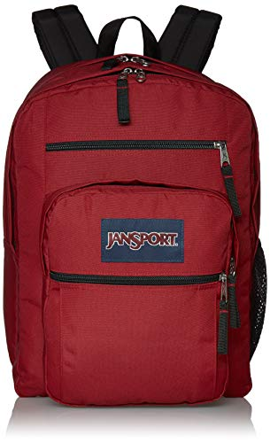 JanSport Big Student Backpack – 15-inch Laptop School Pack, Viking Red