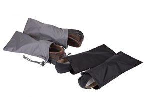 Travelon 2 Pairs of 2 Shoe Covers, Black