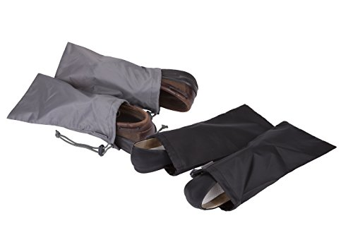 Travelon 2 Pairs of 2 Shoe Covers, Black
