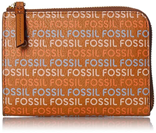 Fossil RFID Passport Zip Around Tan