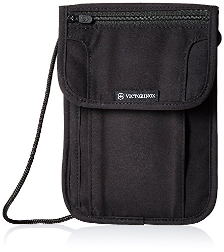 Victorinox Deluxe Security Pouch RFID Protection, Black Logo