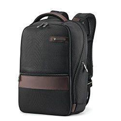 Samsonite Kombi Small Backpack, Black/Brown, One Size