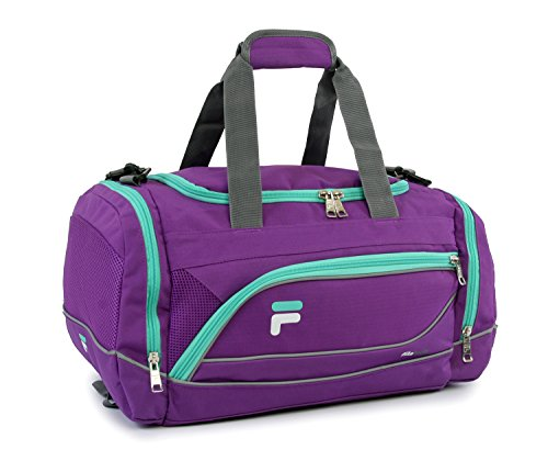 Fila Sprinter 19″ Sport Duffel Bag, Purple/Teal – FL-SD-2719-PLTL
