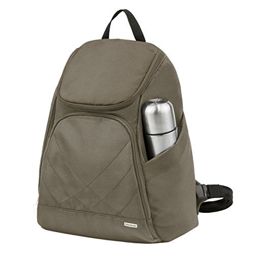Travelon Anti Theft Classic Backpack, Nutmeg