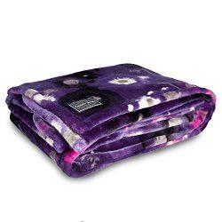 Lug Women's Cuddle Throw, Water Purple