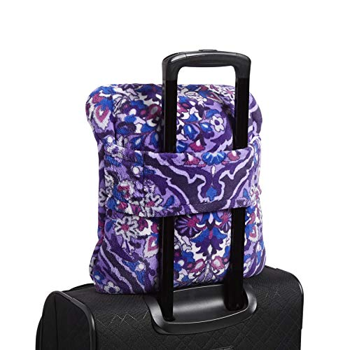 51i24ANK9L1 - Vera Bradley Plush Travel Blanket, Fleece, Regal Rosette
