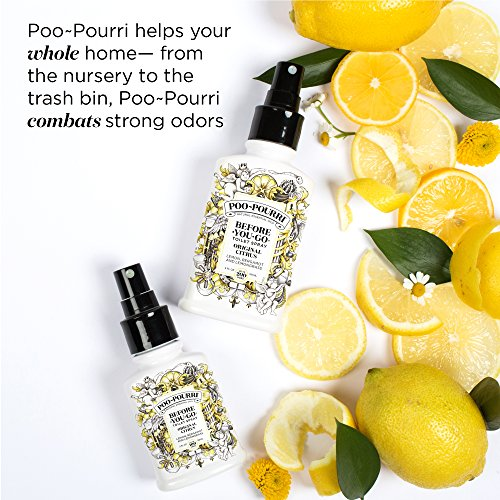 51yHiQQchL1 - Poo-Pourri Before-You-Go Toilet Spray Travel Size, Original Citrus Scent, 10 ml