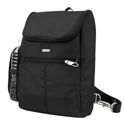 Travelon Anti-Theft Classic Convertible Backpack, Black