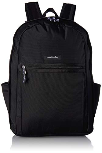 Vera Bradley Women's Lighten Up Grand Backpack, Polyester, Black