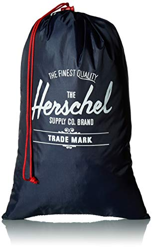 Herschel Shoe Bag Set, Navy/Red