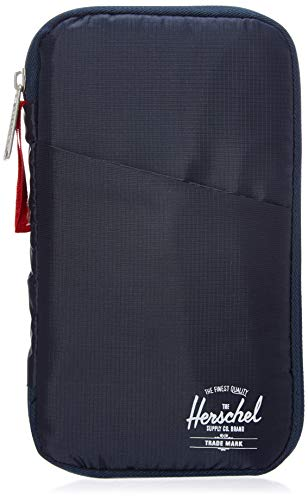 Herschel Travel Wallet, Navy/Red