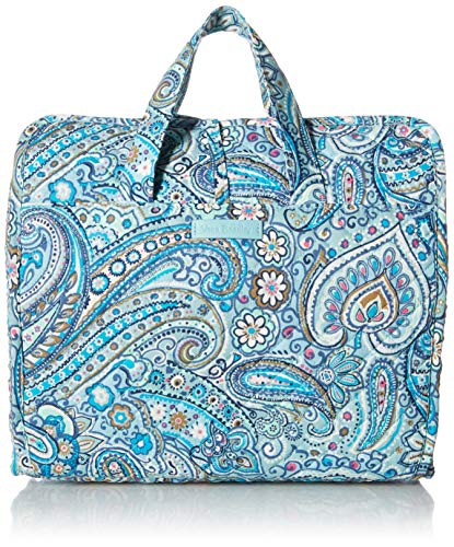 Vera Bradley womens Iconic Grand Hanging Organizer, Signature Cotton, Daisy Dot Paisley, One Size