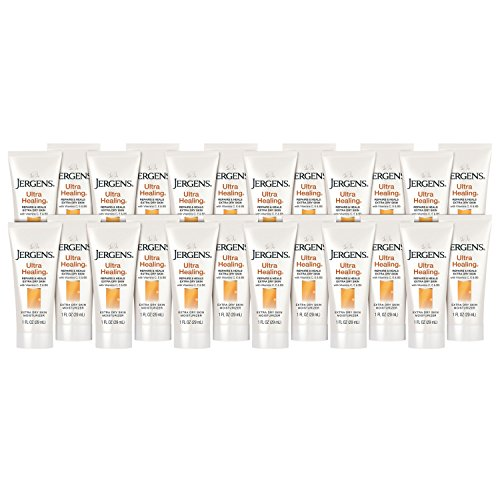 Jergens Ultra Healing Extra Dry Skin Moisturizer, 1 Fl Oz (Pack of 24)