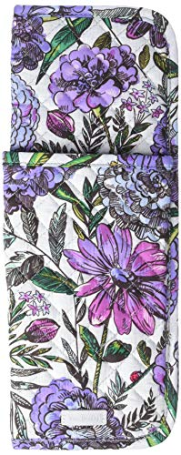 Vera Bradley Iconic Curling & Flat Iron Cover, Signature Cotton, Lavender Meadow