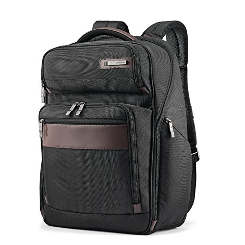 Samsonite Large Backpack, Black/Brown, One Size