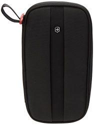 Victorinox Unisex's Travel Organizer w/RFID Protection, Black Logo