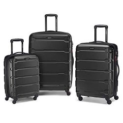 samsonite 3 piece set black 250x250 - The Ultimate Travel Packing Checklist