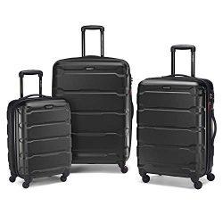 samsonite 3 piece set black 250x250 - The Ultimate Travel Packing Checklist