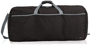 AmazonBasics Large Travel Luggage Duffel Bag – Black