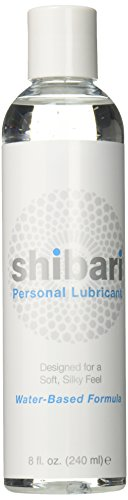 Shibari Personal Lubricant – Water Based 8oz Bottle