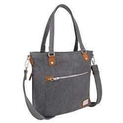 Travelon Anti-Theft Heritage Tote Bag, Pewter
