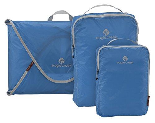 Eagle Creek Pack-It Specter Packing Organizer Starter Set , Brilliant Blue, Set of 3