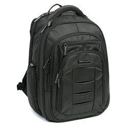 Perry Ellis M150 Business Laptop Backpack, Black