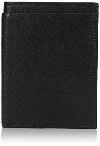 Buxton Men's RFID Blocking Passport Wallet, Black, One Size
