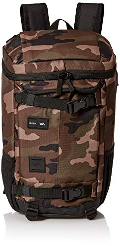 RVCA Men's Voyage Skate Backpack, camo, ONE SIZE