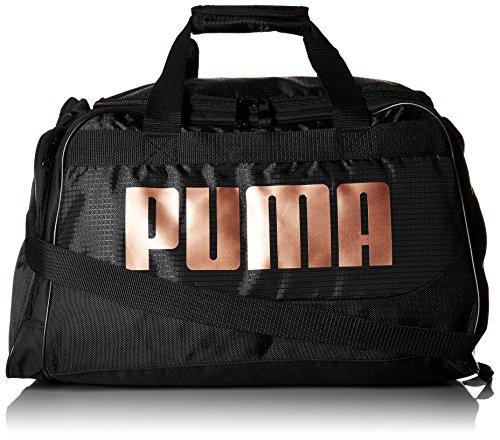 PUMA Women's Evercat Dispatch Duffel, black/bronze, OS