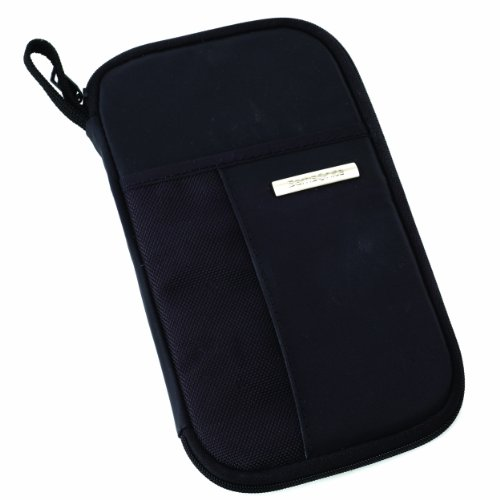 Samsonite Luggage Zip Close Travel Wallet, Black, One Size