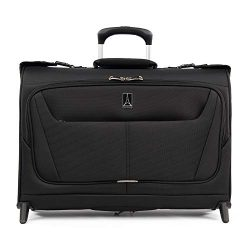 Travelpro Luggage Maxlite 5 22″ Lightweight Carry-on Rolling Garment Bag, Suitcase, Black