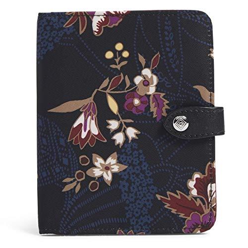 Vera Bradley Women's Midtown RFID Travel Passport Wallet, Garden Dream, One Size