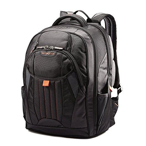 Samsonite Tectonic 2 Large Backpack, Black/Orange