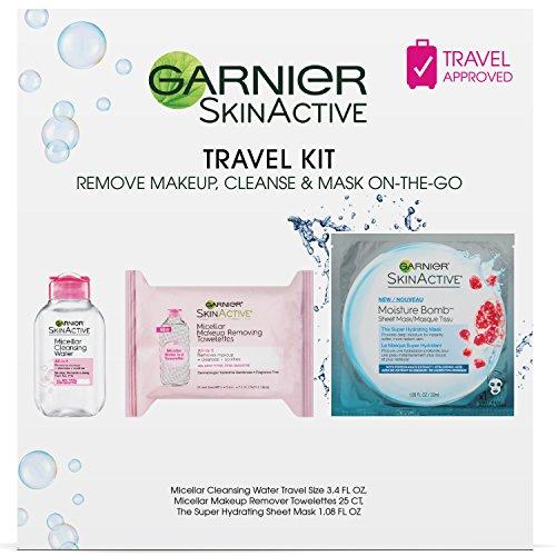 Garnier SkinActive Micellar On-the-Go Travel Skincare Kit
