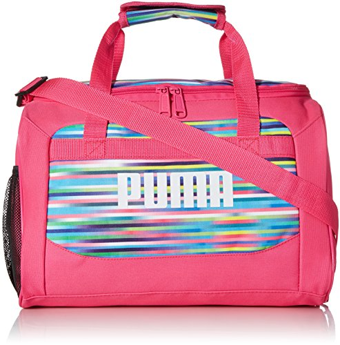 PUMA Girls' Big Evercat Transformation JR Duffel, pink/multi, OS