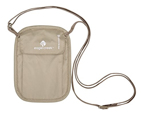 Eagle Creek RFID Blocker Neck Wallet, Tan