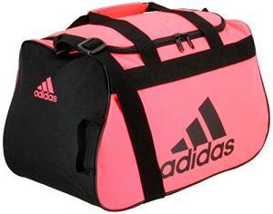 adidas Diablo Small Duffel Bag, Flash Red/Black