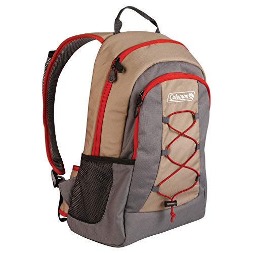 Coleman Soft Cooler Backpack | 28 Can Cooler, Khaki