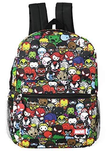 Marvel Kawaii Avengers Superheroes Boy's 16 Inch Backpack (Avengers Kawaii)
