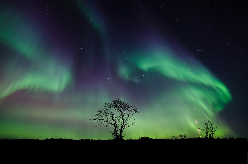 Northern Lights 1024x678 - 20 Amazing Places You Can Visit this Year Without Leaving Your Home
