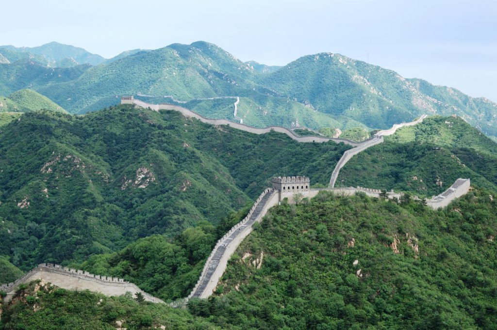 The Great Wall of China 1024x681 - 20 Amazing Places You Can Visit this Year Without Leaving Your Home