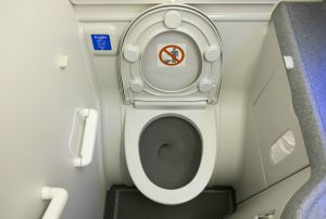 airplanetoilet 300x202 - The Dirtiest Places on an Airplane